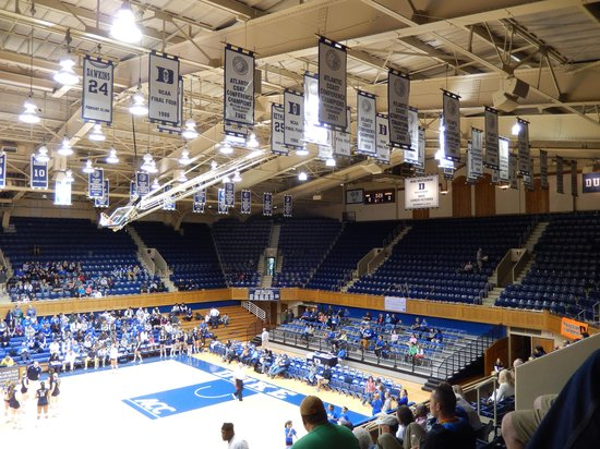 Looking Up At The Banners Picture Of Cameron Indoor