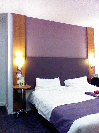 Premier Inn Leeds City Centre (Leeds Arena) Hotel: Perfectly controlled room temperature, which you control yourself
