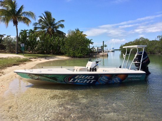 Bud Light Boat Picture Of Skins And Fins Fishing Charters And Guides Islamorada Tripadvisor