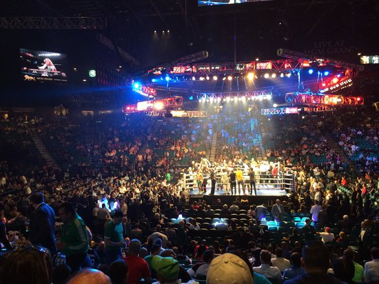 Professional Boxing Mgm Grand Arena Picture Of Mgm