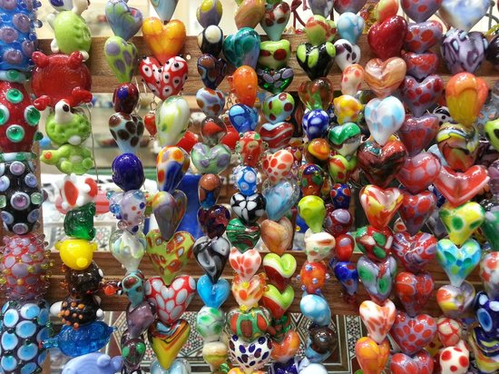 artistic lwork glass by rankoussi bead shop rome