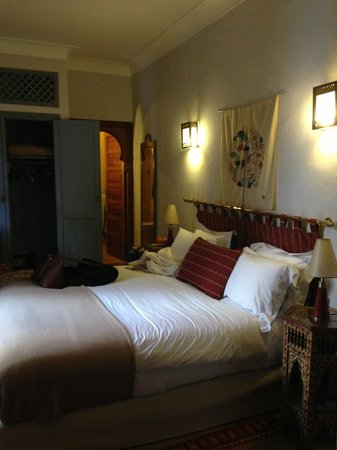 Riad Sadaka: double bedroom