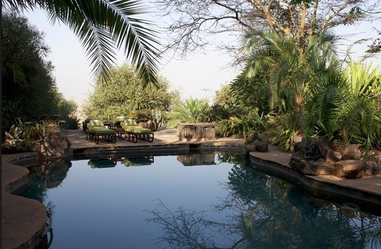 African Heritage House: Natural pool
