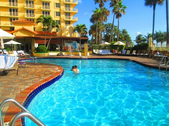 Great Pool And Never Too Crowded Picture Of Embassy Suites Deerfield Beach Resort Deerfield