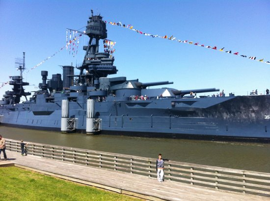 Battleship texas picture of la porte texas gulf coast for Attractions in la porte tx