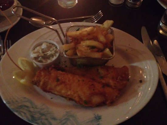 Fish chips picture of the mystic celt wicklow for Mystic fish menu