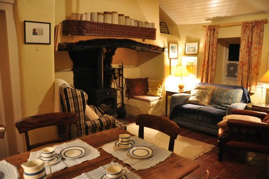 stone barn living room picture of adare irish cottages On living room ideas ireland