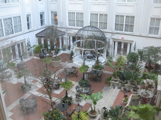 Court Yard View Picture Of The Ritz Carlton New Orleans New Orleans Tripadvisor