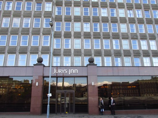 Jurys Inn Edinburgh Car Park