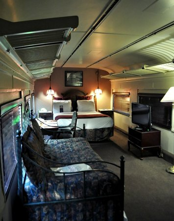 One Of Our Rooms On The Train Picture Of Chattanooga