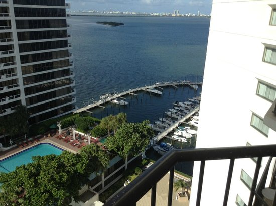 Miami Marriott Biscayne Bay: Sea View