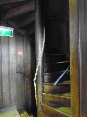 Museum Het Rembrandthuis (Rembrandt House): steep stairs