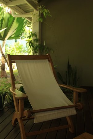 Residence Praslinoise: a place to relax, outside our room