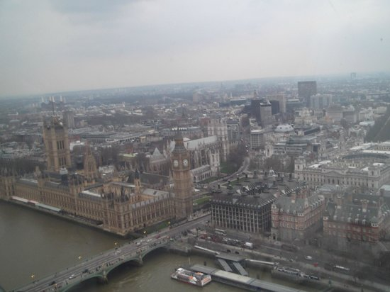 Millennium Hotel London Knightsbridge: view from london eye