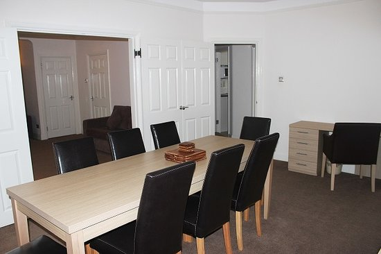 Endsleigh Court: Family Suite Dining Room/Living room view
