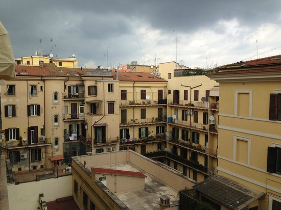 room view picture of the independent hotel rome