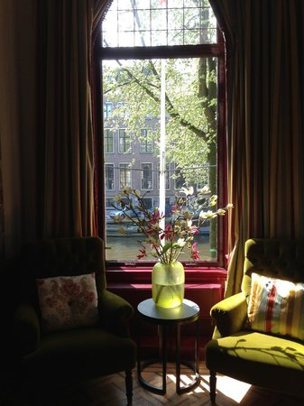 Museum of Bags and Purses: View from the canal house