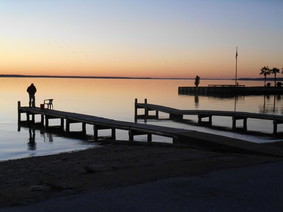Boat landing fishing docks picture of lake livingston for Lake livingston fishing report
