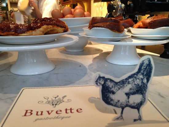 Gorgeous Chocolate mousse dessert - Picture of Buvette Gastrotheque ...