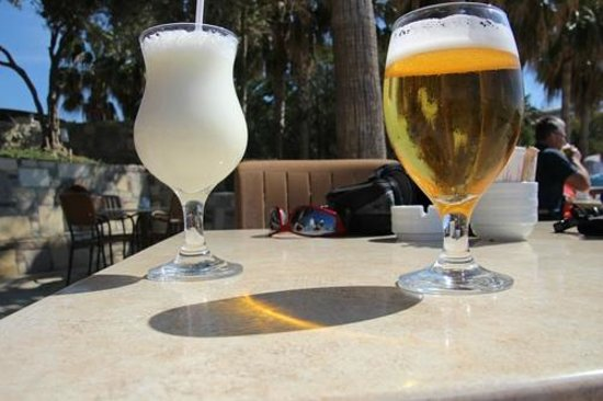 Barut Arum: A nice post-walk drink on the promenade terrace