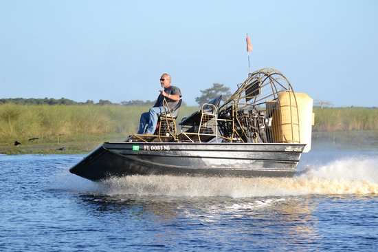 Saint Johns River Airboat Tour