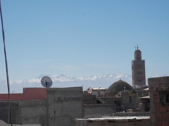 Riad Ambre et Epices: View from the roof
