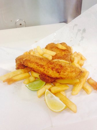 Off the Hook Fish and Chips