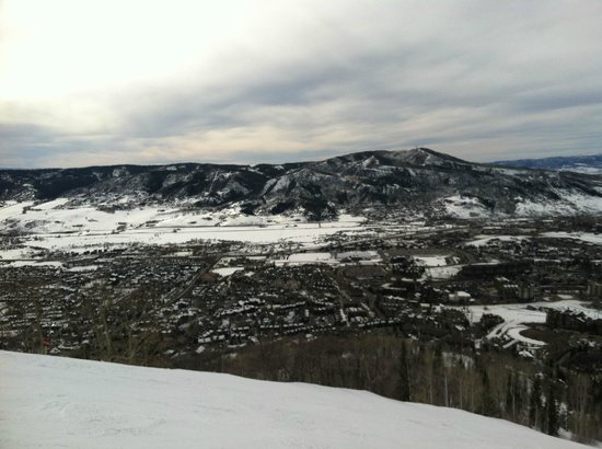 ... toward the gondola - Photo de Steamboat Ski Resort, Steamboat Springs