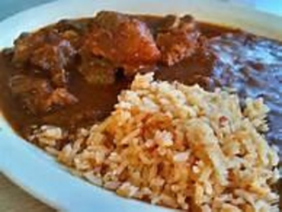 Costillas De Puerco En Salsa Roja - Picture of Trina's Mexican ...
