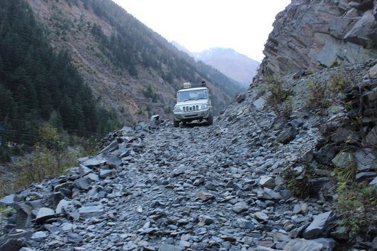 Road After Killar Picture Of Sach Pass Dalhousie