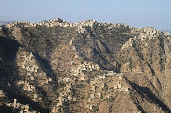 View for Houses in Mountain Yemen