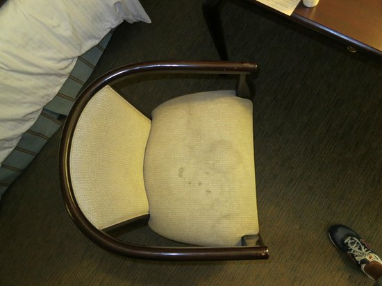 Carousel Inn and Suites: Dirty chair