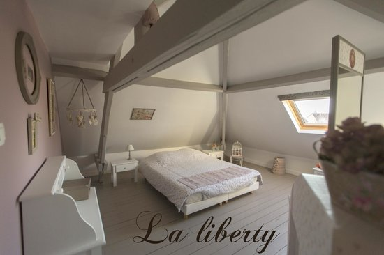 La cosy ang lique et douce picture of la gorgue nord tripadvisor for Photo chambre adulte