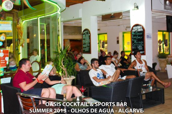 Oasis Sports & cocktail bar