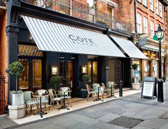 An image of the Cote restaurant in London.