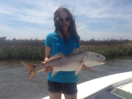 A great inshore fishing charter in beautiful charleston for Fishing report charleston sc