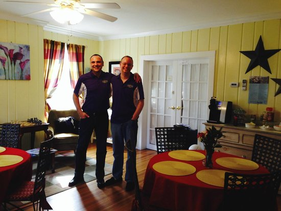 The Homestead at Rehoboth Bed & Breakfast: David and Joe