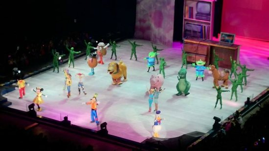 Disney On Ice Picture Of First Direct Arena Leeds