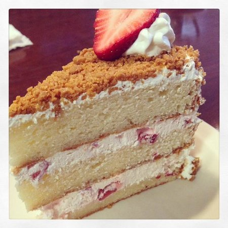 The Alley Strawberry Crunch Cake