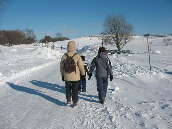 Holiday Inn Express Quebec City (Sainte-Foy): Walking in Plains of Abraham