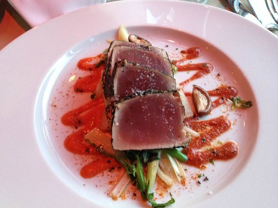 Ahi tuna for Ringside fish house portland