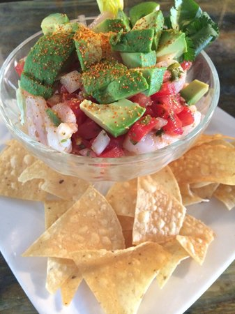 Ahi tuna poke picture of fly n fish oyster bar and grill for Flying fish bar and grill