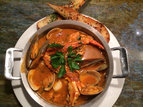 Amazing cioppino picture of fly n fish oyster bar and for Flying fish bar and grill