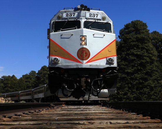 The Train Photo De Grand Canyon Railway Williams