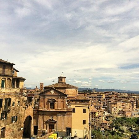 Siena  Palazzo Pubblico Back  Picture Of Tours In Tuscany  Private Tours
