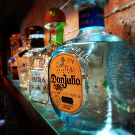 Rocas: Tequila selection