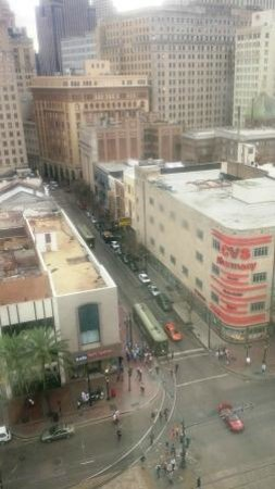 Crowne Plaza Hotel Astor-New Orleans: Canal Street view