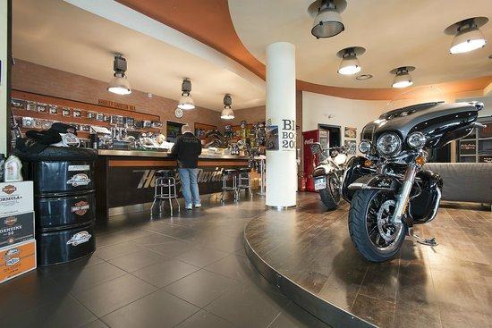 Harley-Davidson Speed Shop - Rentals Photo: Reception