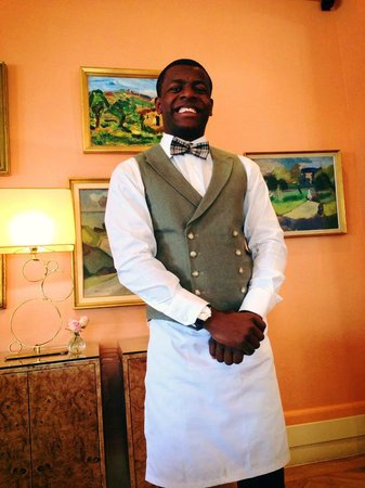 The Kensington Hotel: Lovely service from George the waiter