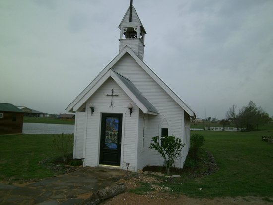 Beaumont Ranch: Little church in the Western town